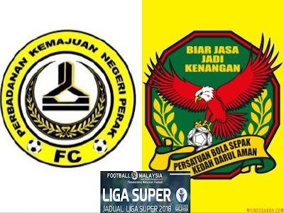 Live Streaming PKNP FC vs Kedah Liga Super 11 Februari 2018