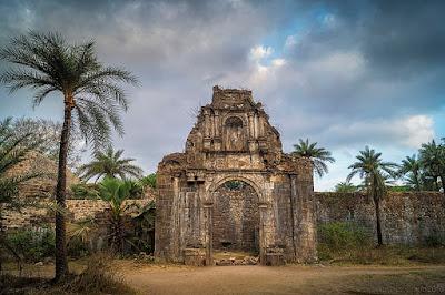 Main entrance to the Citadel at Vasai Fort