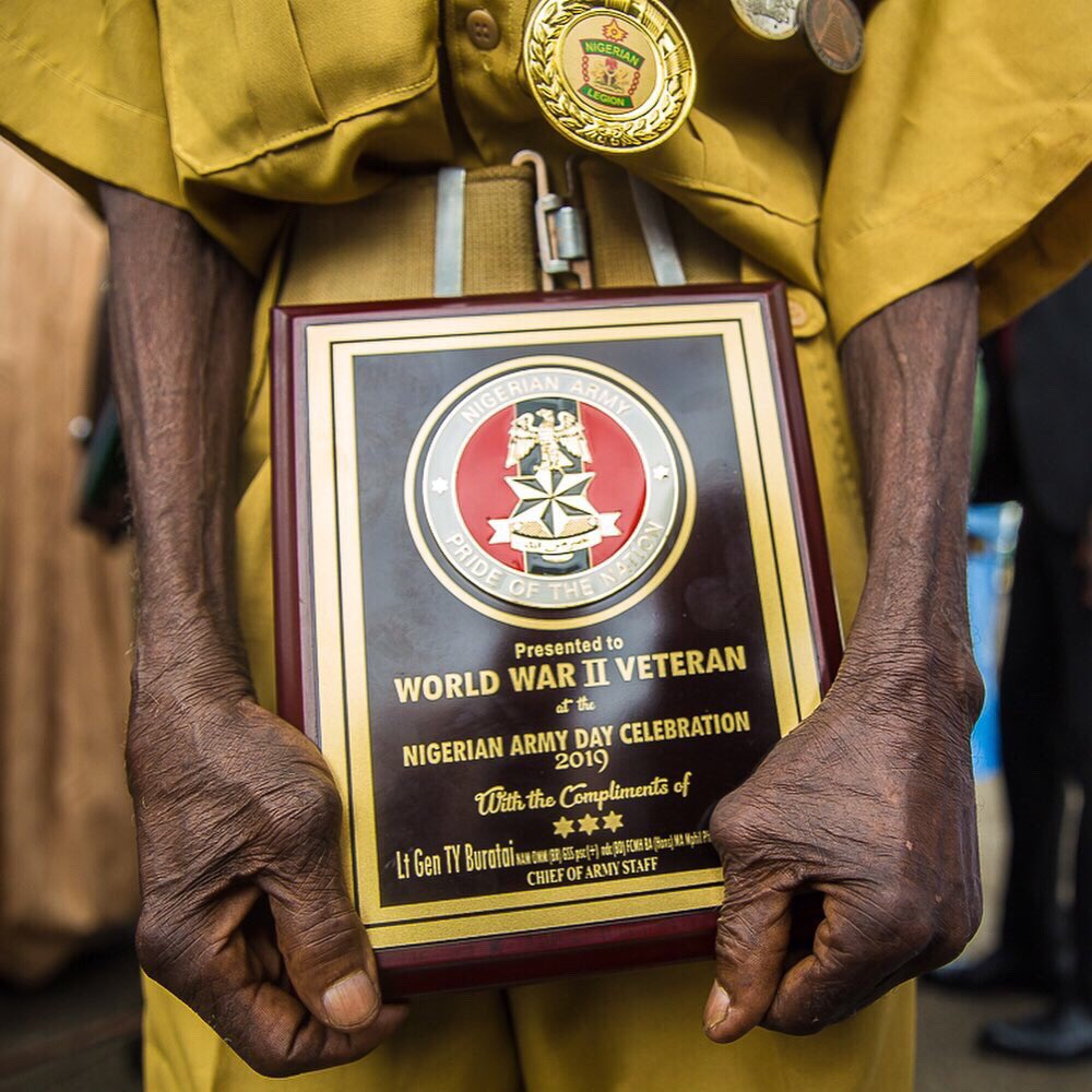 Meet 104-years-old Nigerian Oldest Surviving Soldier - See Photos