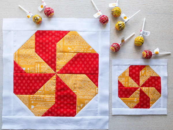 Candy Quilt Block