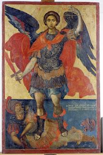 Αποτέλεσμα εικόνας για Ἀρχάγγελος Μιχαὴλ