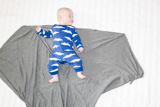 how to swaddle a baby step 1