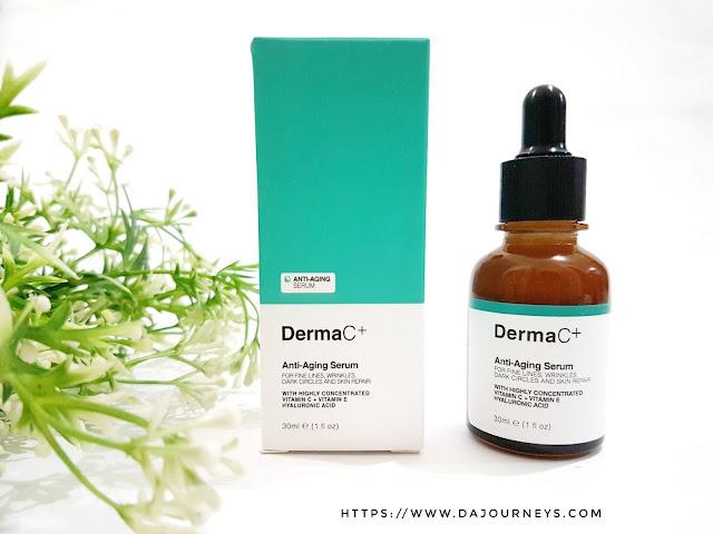 Review DermaC+® Anti-Aging Serum