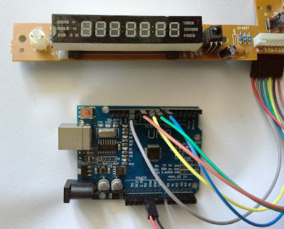 A different TM1628 7-segment display