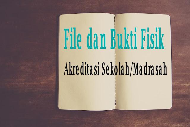 Free Download File Dan Bukti Fisik Akreditasi SD/MI Terlengkap 2019