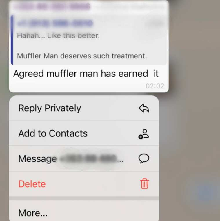 Did you know you can send private messages in group chats?