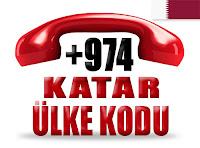+974 Katar ülke telefon kodu