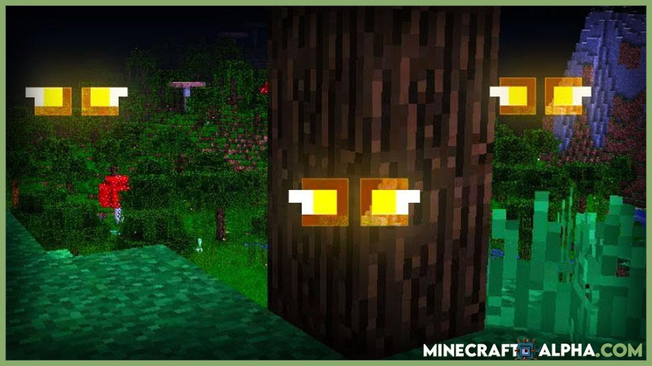 Minecraft Eyes in the Darkness Mod 1.17.1 Spooky Mod)