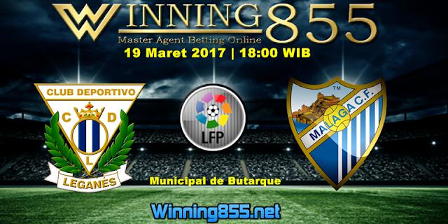 Prediksi Skor Leganes vs Malaga 19 Maret 2017