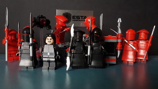 Охрана Сноука, телохранители, гвардейцы, красные солдаты, преторианцы, Первый орден, Стар Варс, зВездные войны