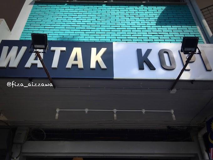Watak Kopi kafe wajib singgah jika korang berada di Kuantan