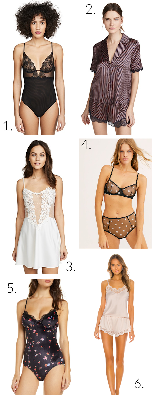 Wednesday Wishlist: Lingerie for Valentine's Day | Organized Mess