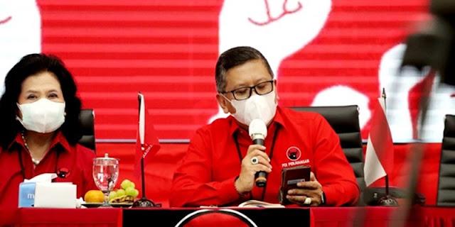 PDIP: Pertemuan Megawati-Moeldoko Sama Sekali Tidak Terjadi