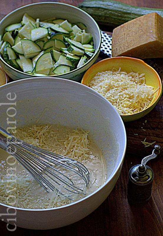 Schiacciata alle zucchine