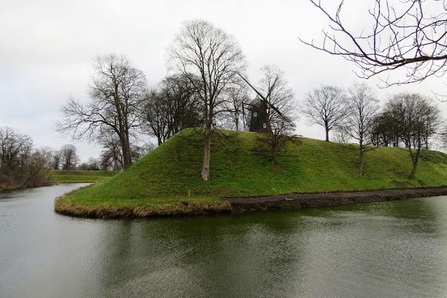 Winter in Copenhagen Kastellet
