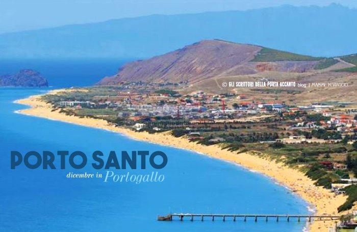 Porto Santo, vista della baia