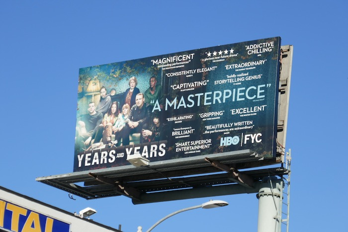 Years and Years HBO FYC billboard