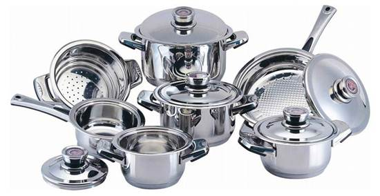 stainless-steel-crockery