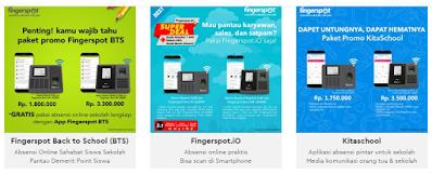Promo Layanan Online Fingerspot Terbaru 2020