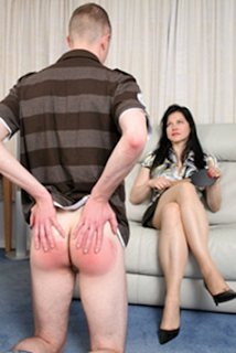 sore bottom spanking
