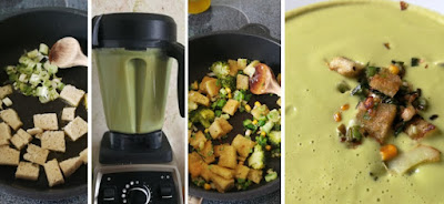 Zubereitung Broccoli-Mais-Cremesuppe