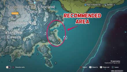 Frozen boar locations