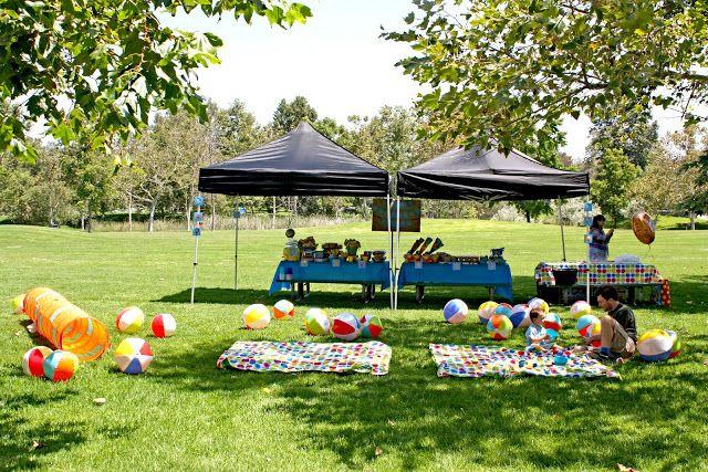 Birthday Party Ideas at Park