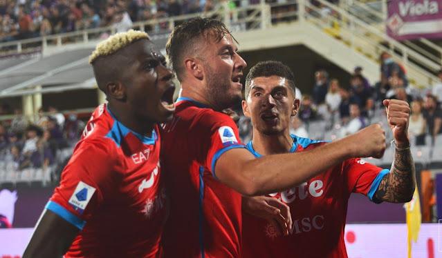 ملخص اهداف مباراة نابولي وفيورنتينا (2-1) في الدوري الايطالي