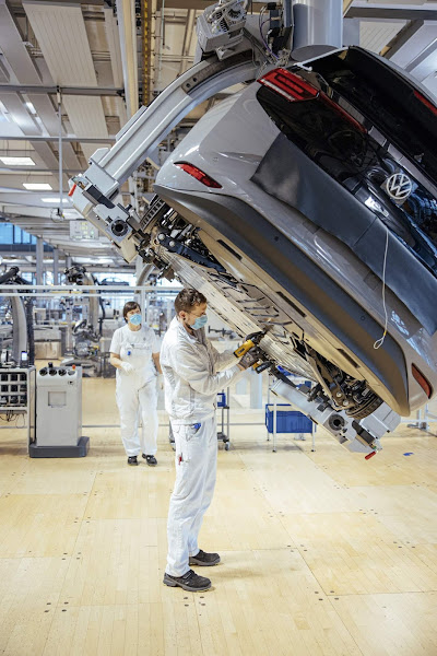 Volkswagen ID.3 começa a ser produzido também em Dresden, Alemanha