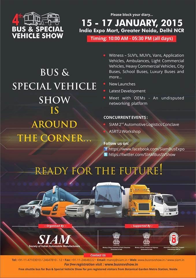 4th bus & special vehicle show