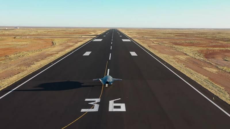 Літак-дрон Loyal Wingman здійснив перший політ