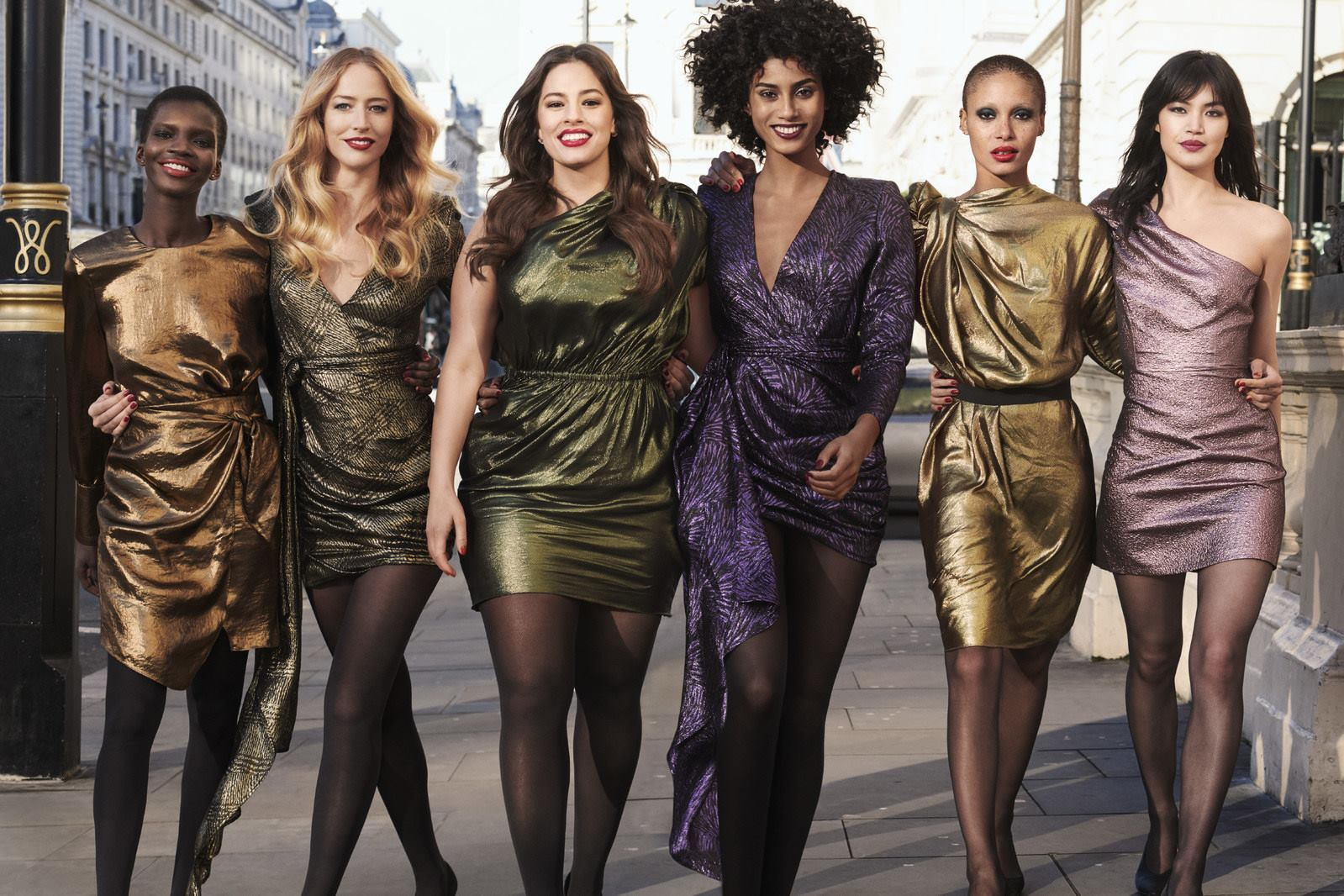 Revlon New 'Live Boldly' Campaign in New York City