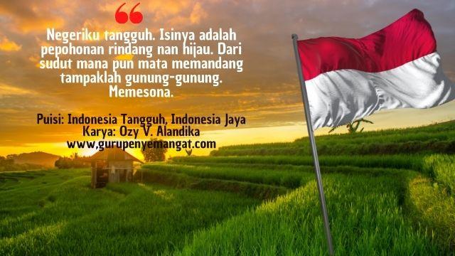 Puisi Indonesia Tangguh, Indonesia Jaya