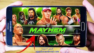 تحميل لعبة WWE Mayhem | تحميل WWE Mayhem للاندرويد بحجم صغير | كريزى اندرويد