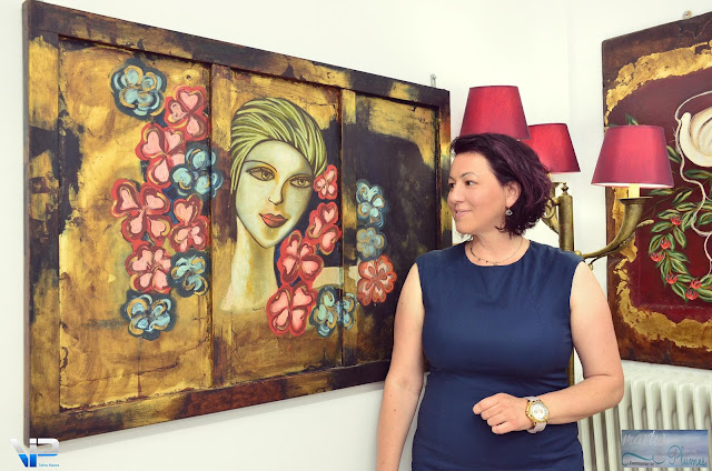 Με επιτυχία εκλεισε τις πύλες της η έκθεση ζωγραφικής της Μαντώ Χελιώτη στο Τολό
