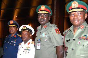 Nigeria security chiefs