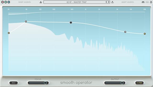 Interface do Plugin Baby Audio - Smooth Operator 1.0.1