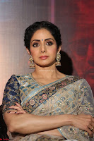 Sri Devi in designer saree stunning beauty at the launch of MOM movie Trailer~  Exclusive 051.JPG