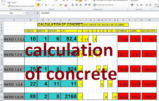 Simply enter the width, length, and thickness to calculate concrete for structures.