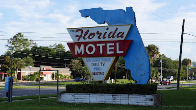 Florida Motel - Vintage Sign Gainesville, Florida