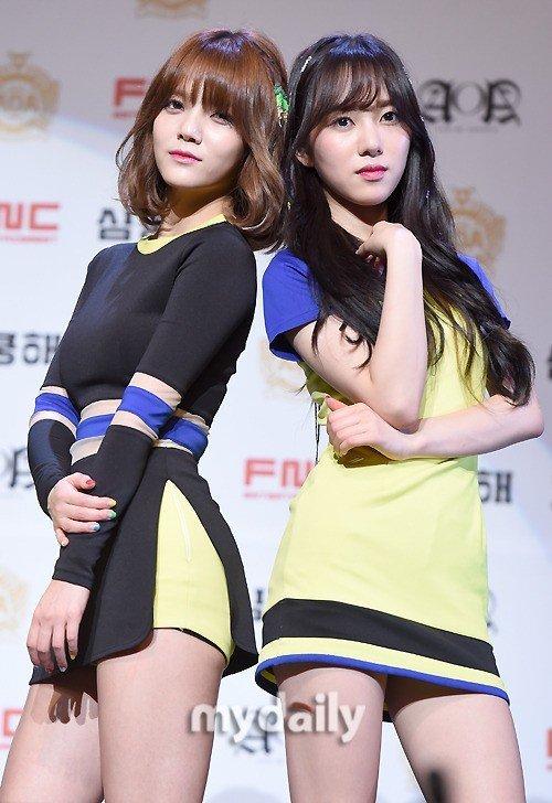 AOA Jimin özür diledi, Mina cevap verdi