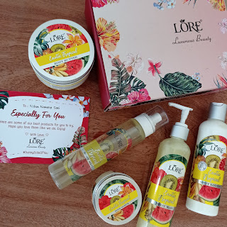Sunny side of you, Lore Spa Series-Exotic Tropical