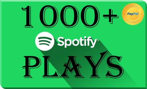 Buy 1.000 Spotify Plays