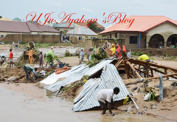 PHOTOS: Flood renders residents of Suleja homeless