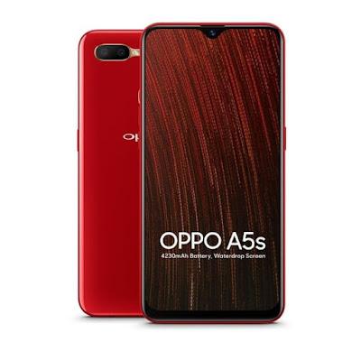 Harga dan Spesifikasi Oppo A5s