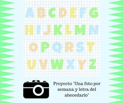 Una foto por semana y letra del abecedario