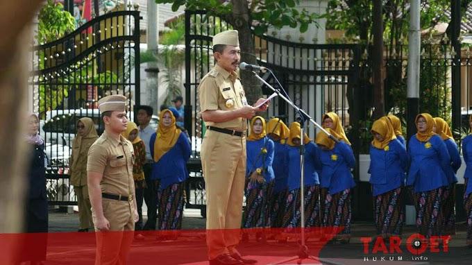 Bupati Haryanto Pimpin Upacara Peringatan Hari Ibu dan Bela Negara