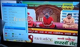 Aastha TV Channel added again on DD Freedish