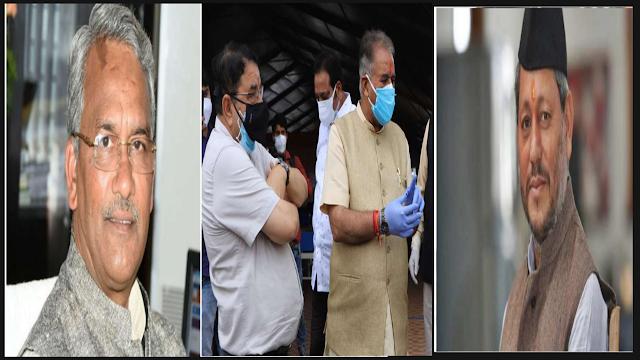 कैबिनेट मंत्री गणेश जोशी  और सीएम तीरथ सिंह रावत आमने सामने, जोशी ने सरकार पर खड़ा किया सवाल ।