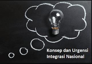 Urgensi Integrasi Nasional Sebagai Salah Satu Parameter Persatuan Dan Kesatuan Bangsa Indonesia